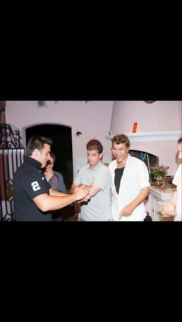 OLMAC avec Bogdanoff et jerome à St Tropez