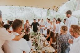 OLMAC en représentation à un mariage
