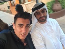 Client à Dubaï JUMEIRAH