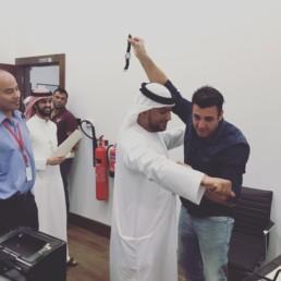 OLMAC en pickpocket à Dubaï