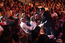 OLMAC avec son public