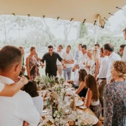 OLMAC en show lors d'un mariage