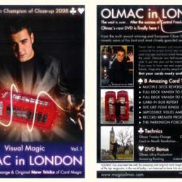 JAQUETTE DVD OLMAC IN LONDON
